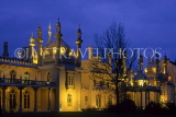 UK, Sussex, BRIGHTON, Royal Pavilion, night view, UK6707JPL