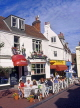 UK, Sussex, BRIGHTON, The Lanes, cafe scene, BRG142JPL