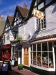 UK, Sussex, BRIGHTON, The Lanes, small shops and restaurant street, BRG144JPL