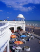 UK, Sussex, Bexhill on Sea, De La Warr Pavilion and cafe scene, UK6127JPL