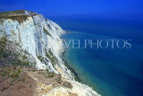 UK, Sussex, EASTBOURNE, Beachy Head, white cliffs and seaview, UK4430JPL