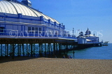 UK, Sussex, EASTBOURNE, Eastbourne Pier and beach, UK4404JPL