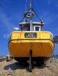 UK, Sussex, HASTINGS, Fishermen's Beach, fishing boat stern, HAS39JPL