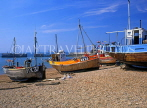 UK, Sussex, HASTINGS, Fishermen's Beach, fishing boats, HAS25JPL