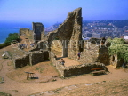 UK, Sussex, HASTINGS, Hastings Castle ruins, HAS03JPL