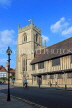 UK, Warwickshire, STRATFORD-UPON-AVON, Church Street, Guild Chapel and Alms Houses, UK25570JPL