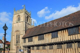 UK, Warwickshire, STRATFORD-UPON-AVON, Church Street, Guild Chapel and Alms Houses, UK25572JPL