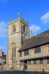 UK, Warwickshire, STRATFORD-UPON-AVON, Church Street, Guild Chapel and Alms Houses, UK25573JPL