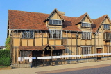 UK, Warwickshire, STRATFORD-UPON-AVON, Shakespeare's birthplace, UK25352JPL