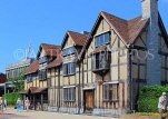 UK, Warwickshire, STRATFORD-UPON-AVON, Shakespeare's birthplace, UK25389JPL