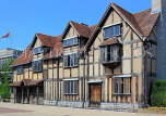 UK, Warwickshire, STRATFORD-UPON-AVON, Shakespeare's birthplace, UK25390JPL