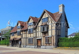 UK, Warwickshire, STRATFORD-UPON-AVON, Shakespeare's birthplace, UK25399JPL