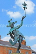 UK, Warwickshire, STRATFORD-UPON-AVON, The Jester sculpture, UK25459JPL