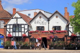 UK, Warwickshire, STRATFORD-UPON-AVON, The White Swan hotel front, UK25558JPL