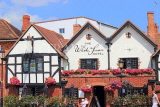 UK, Warwickshire, STRATFORD-UPON-AVON, The White Swan hotel front, UK25559JPL