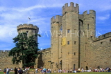 UK, Warwickshire, WARWICK CASTLE, and visitors, UK5553JPL