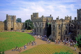UK, Warwickshire, WARWICK CASTLE, and visitors, UK5555JPL