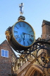 UK, Yorkshire, YORK, Coney St, Little Admiral Clock at St Martin-le-Grand Church, UK3094JPL