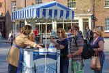 UK, Yorkshire, YORK, Ice Cream stalls, UK3203JPL