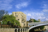 UK, Yorkshire, YORK, Lendal Tower & Lendal Bridge, UK6097JPL