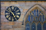 UK, Yorkshire, YORK, Low Ousegate, St Michael's Spurriergate church walls clock, UK3071JPL