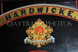 UK, Yorkshire, YORK, National Railway Museum, Hardwicke rail company logo, UK3049JPL