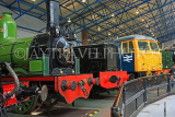 UK, Yorkshire, YORK, National Railway Museum, steam and diesel engines, UK3020JPL