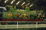 UK, Yorkshire, YORK, National Railway Museum, steam engine, UK7136JPL