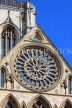 UK, Yorkshire, YORK, York Minster, Rose Window, UK9781JPL