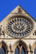 UK, Yorkshire, YORK, York Minster, Rose Window, UK9782JPL