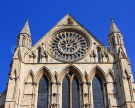 UK, Yorkshire, YORK, York Minster, and Rose Window, UK9783JPL