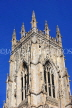 UK, Yorkshire, YORK, York Minster, building section, UK9894JPL