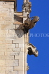 UK, Yorkshire, YORK, York Minster, gargoyles on building, UK9895JPL