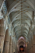 UK, Yorkshire, YORK, York Minster, interior, nave, UK3185JPL