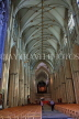 UK, Yorkshire, YORK, York Minster, interior, nave, UK9865JPL
