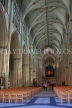 UK, Yorkshire, YORK, York Minster, interior, nave, UK9869JPL