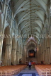 UK, Yorkshire, YORK, York Minster, interior, nave, UK9870JPL