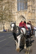UK, Yorkshire, YORK, horse drawn carriage rides, by York Minster, UK3155JPL