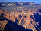 USA, Arizona, GRAND CANYON, aerial view, rock formations, GC12JPL