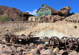 USA, California, Calico Ghost Town, and Bottle House, US4853JPL