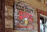 USA, California, Calico Ghost Town, restaurant beer advertisement, US4847JPL