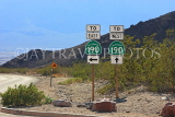 USA, California, Death Valley National Park, road signs, US4811JPL