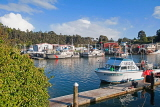 USA, California, FORT BRAGG, fishing area and boats, US4225JPL