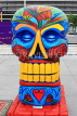 USA, California, Los Angeles, Day of the Dead celebration, Grand Skulls on display, US4902JPL