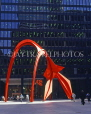 USA, Illinois, CHICAGO, Downtown, Flamingo sculpture, by Calder, CHI643JPL
