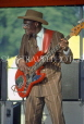 USA, Illinois, CHICAGO, Grant Park, Blues Festival, guitarist performing, CHI835JPL