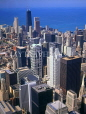 USA, Illinois, CHICAGO, city view, from Sears Tower, CHI749JPL