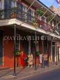 USA, Louisiana, NEW ORLEANS, French Quarter, architecture, street scene, LOU147JPL