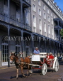 USA, Louisiana, NEW ORLEANS, French Quarter, horse drawn carriage, LOU148JPL