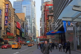 USA, New York, MANHATTAN, Broadway, 42nd Street scene, US4656JPL